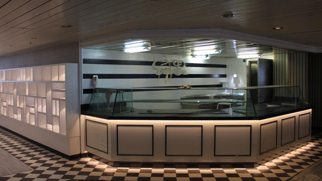 PACIFIC ARIA ship works, Studio Architetti Bigi Carità Genova