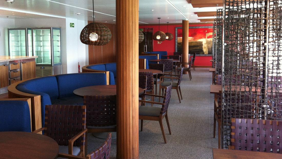 SAGA SAPPHIRE ship works, Studio Architetti Bigi Carità Genova