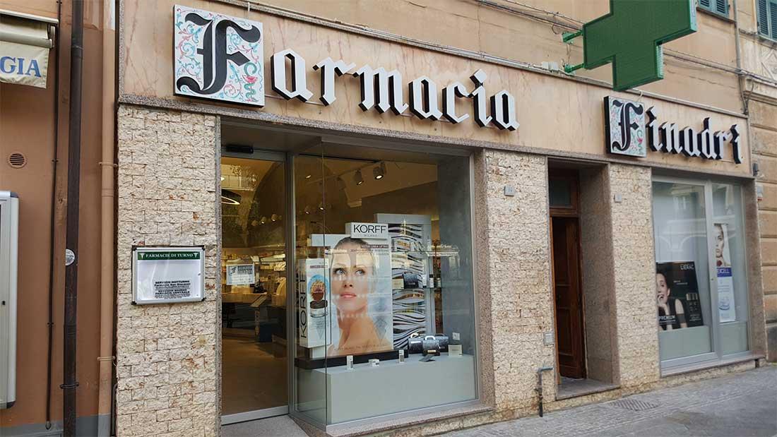 FARMACIA FANADRI Interior design, Studio Architetti Bigi Carità Genova