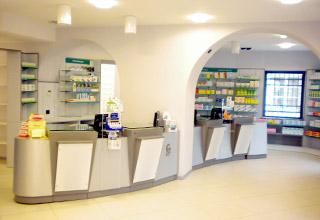 Farmacia San Lazzaro altri progetti studio architetti bigi carita