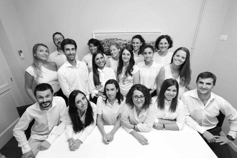 Foto di gruppo - Studio Architetti Bigi Carità Genova