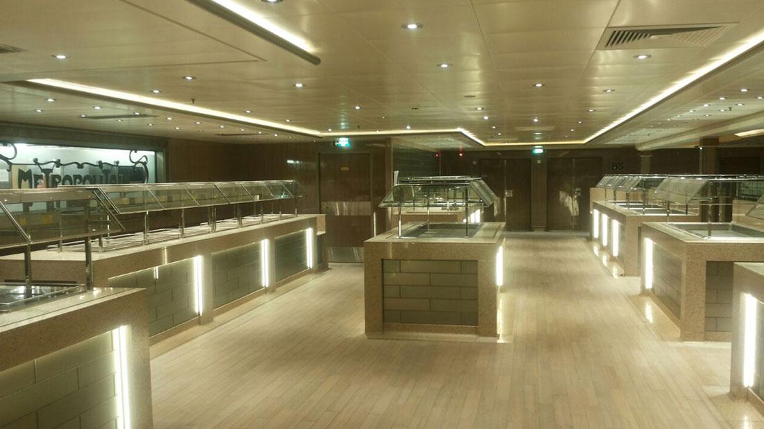 ISLAND PRINCESS ship works, Studio Architetti Bigi Carità Genova