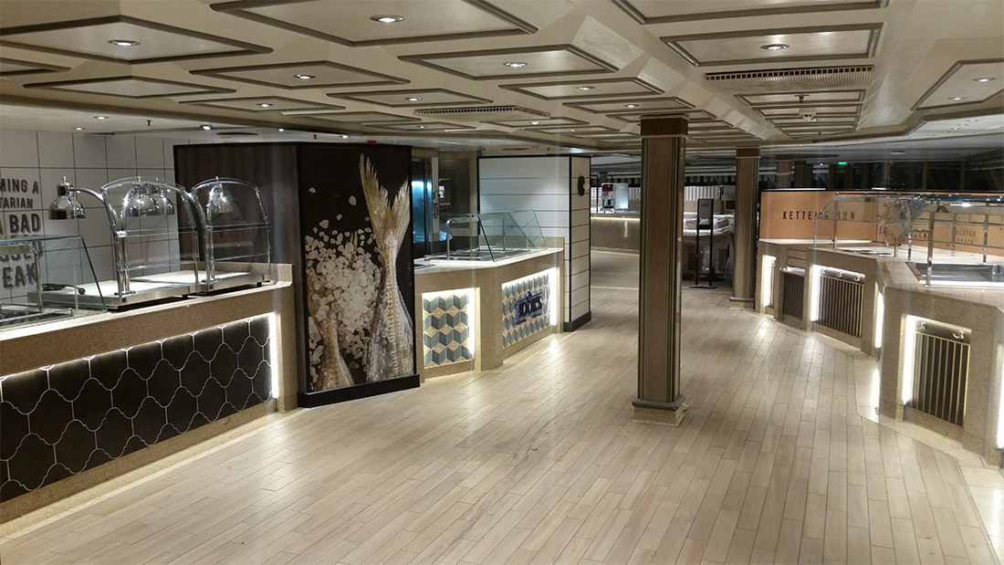 PACIFIC EXPLORER ship works, Studio Architetti Bigi Carità Genova
