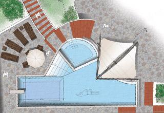 Via Pescetto costruzione piscina e solarium Referenze altri progetti referenze studio architetti bigi carità